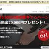 今だけ新規口座開設で2万円分貰えます!【0円FX】第2弾!